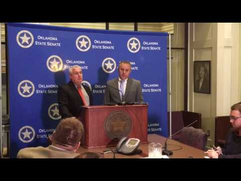 Oklahoma Senate: Senate leaders discuss budget