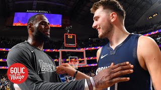 Luka Doncic is doing something special, even LeBron is impressed - Doris Burke | Golic and Wingo