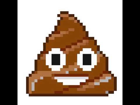 Emoji Crotte Pixel Art 2 Youtube