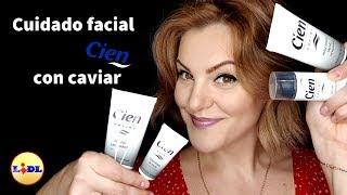 Cuidado facial con CIEN - LIDL y extracto de caviar. Dianne