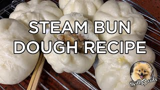 BEST STEAM BUN DOUGH RECIPE | Cách làm bánh bao o cần máy (w/English Subtitles)