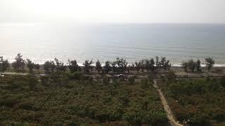 台湾鉄道最南端海岸沿いを行く