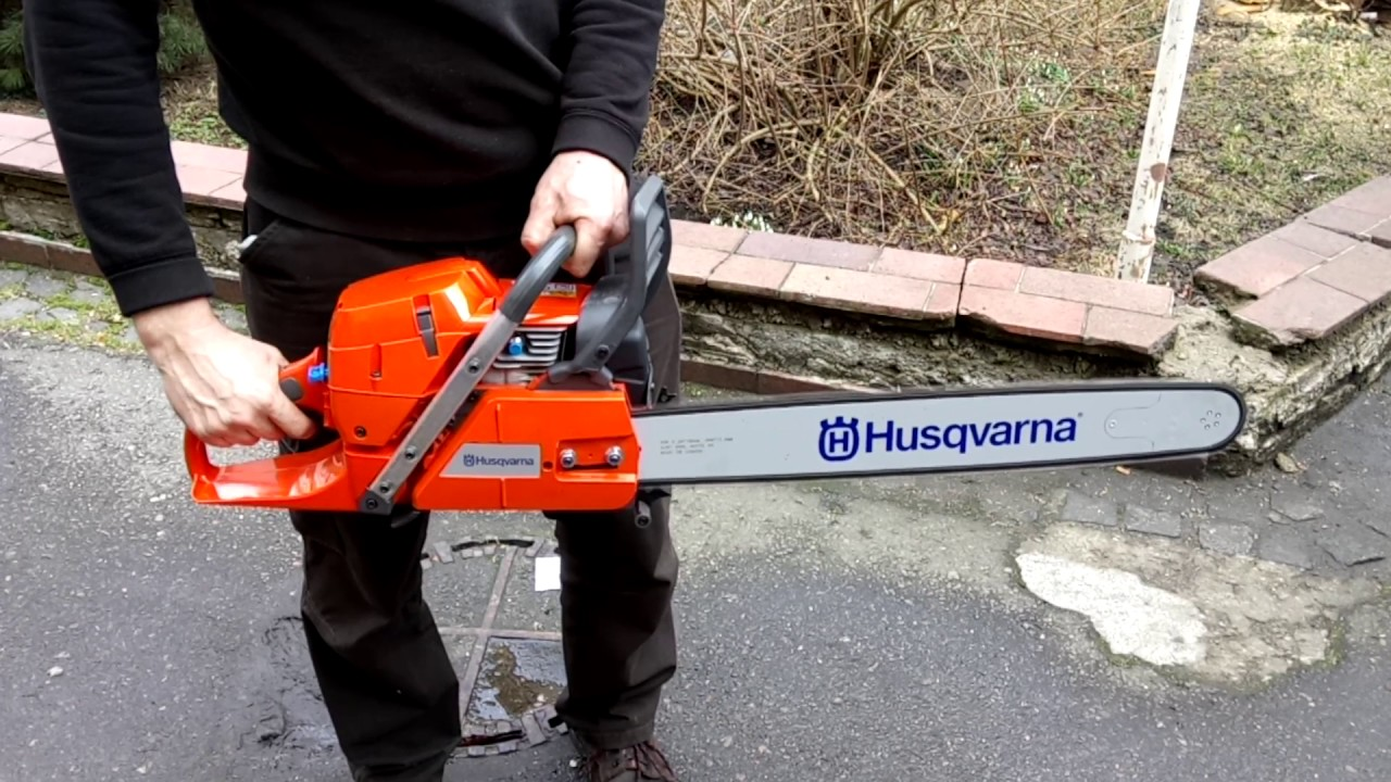 Chainsaw Husqvarna 390 Xp Bar 24 Quot 60 Cm 3 8 Quot Cold Start
