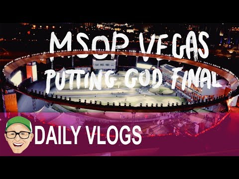 MAJOR SERIES OF PUTTING Putting God are Made in VEGAS