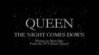 Queen - The Night Comes Down (Official Lyric Video)