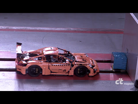 LEGO Porsche Crashtest in Slow-Motion thumbnail