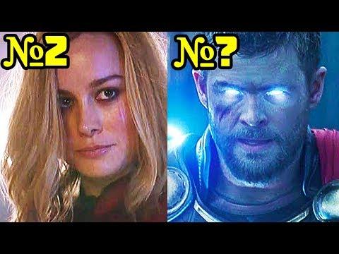 7 СИЛЬНЕЙШИХ Мстителей Марвел и 5 самых СЛАБЫХ