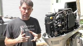 changing-the-sump-oil-in-a-four-stroke-outboard