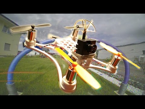 This is why you need a Brushed FPV Micro Quadcopter :-D