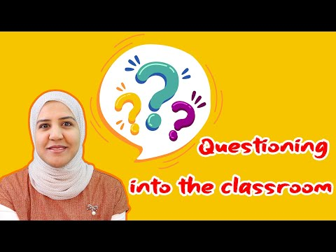 👨🏫To TEACH Effectively│Questioning As A Teaching Skill  ╢TYPES & TECHNIQUES╟
