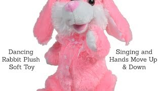 Dancing Rabbit Plush Soft Toys Funny Videos For kids | Musical Bunny ...