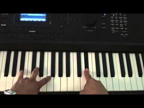How to play RGF Island on piano - Fetty Wap - RGF Island Piano Tutorial