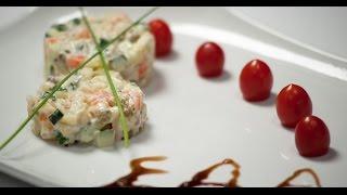 Вегетарианский Оливье   7 нот вегетарианской кухни