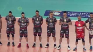 30-04-2017: #clf4rome - Finalissima Champions, ingresso in campo Perugia-Kazan
