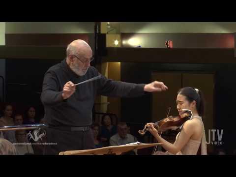 Yebin Yoo - Brahms Violin Concerto