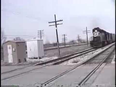Vintage St Louis Area Railroading 1989