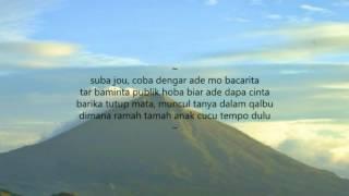 D'Facto - koTA TIDORe (Tanah Kosong) | Hip Hop Maluku 2018