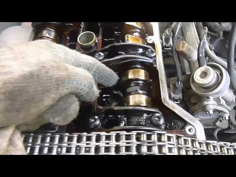 Замена цепи грм 111 двигатель