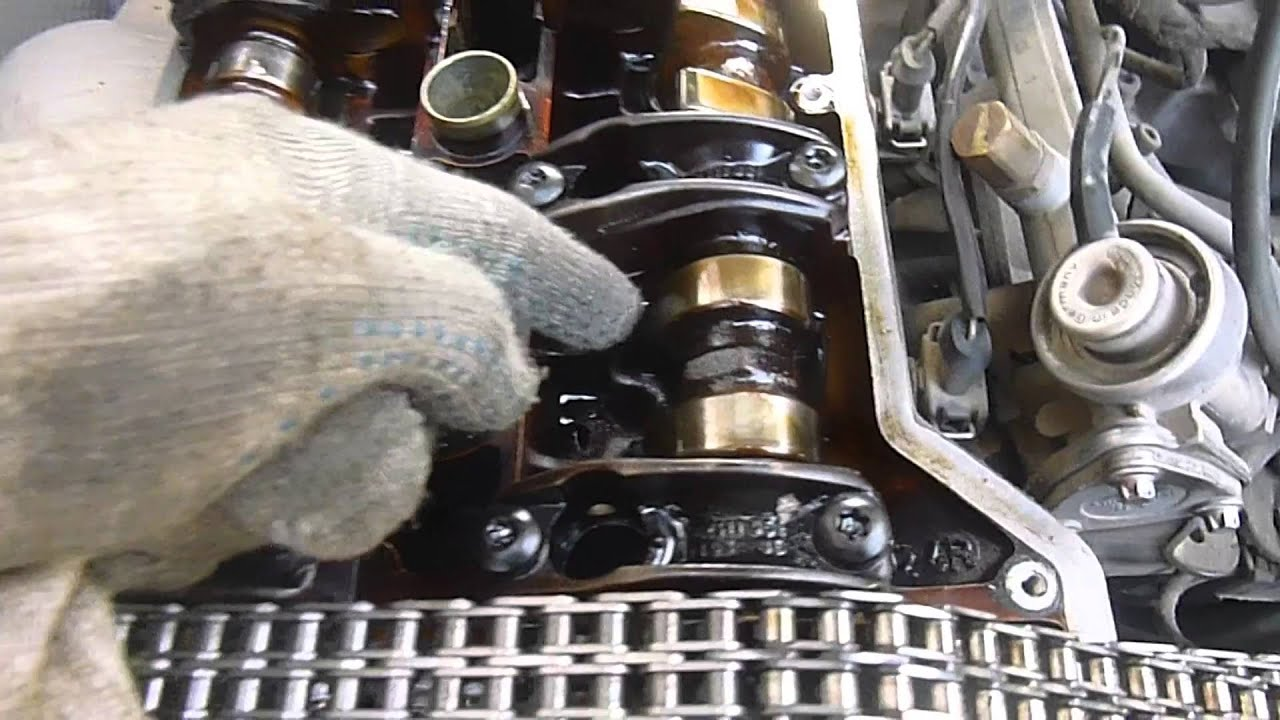 замена маслосъемных колпачков мерседес с202 видео ролик