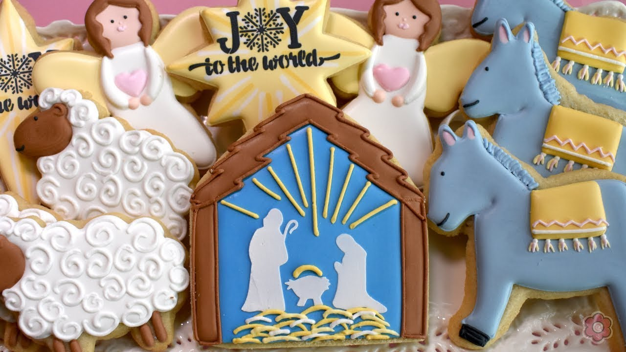 How to Decorate Nativity Cookies - FIVE Designs!