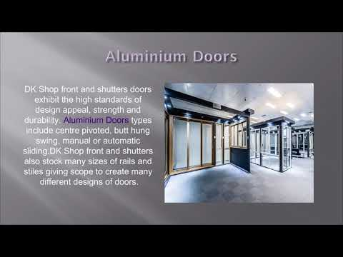 Aluminium Shopfronts London - DKShopfronts,UK