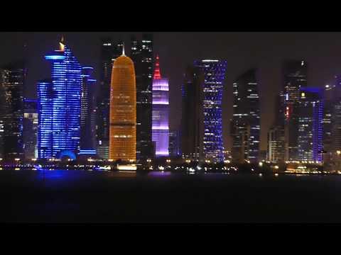 MSC Fantasia leaving Qatar 2017