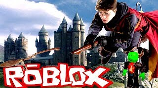 ON PART TO POUDLARD WIZARD TYCOON roblox