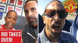 Rio Ferdinand's Wembley Takeover!   Emirates FA Cup Final 2018