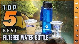 Top 5 Best Filtered Water Bottle Review in 2021