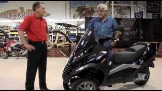 Piaggio MP3 250 - Jay Leno's Garage