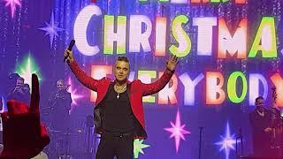 Robbie Williams & Jamie Cullum - Merry Xmas Everybody - Live @ SSE Arena - 16/12/2019
