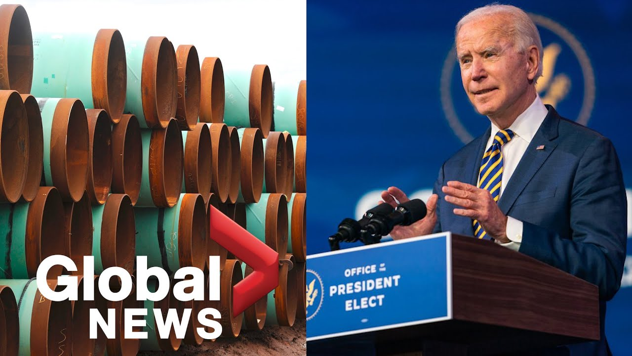 Biden to bar Keystone pipeline within hours of taking office