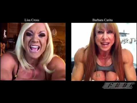Female Bodybuilders Lisa Cross & Barbara Carita – Live Talk
