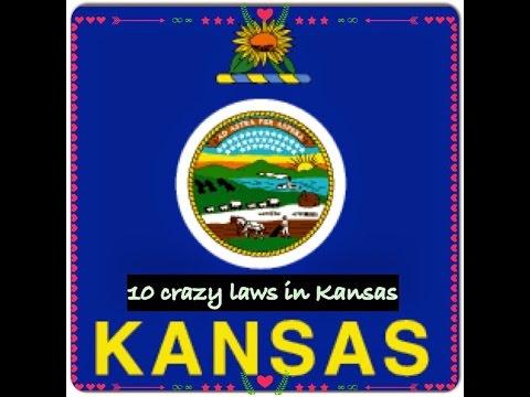 TOP TEN CRAZY LAWS IN KANSAS