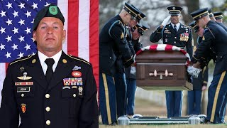Fallen SFC Mihail Golin - Funeral At Arlington