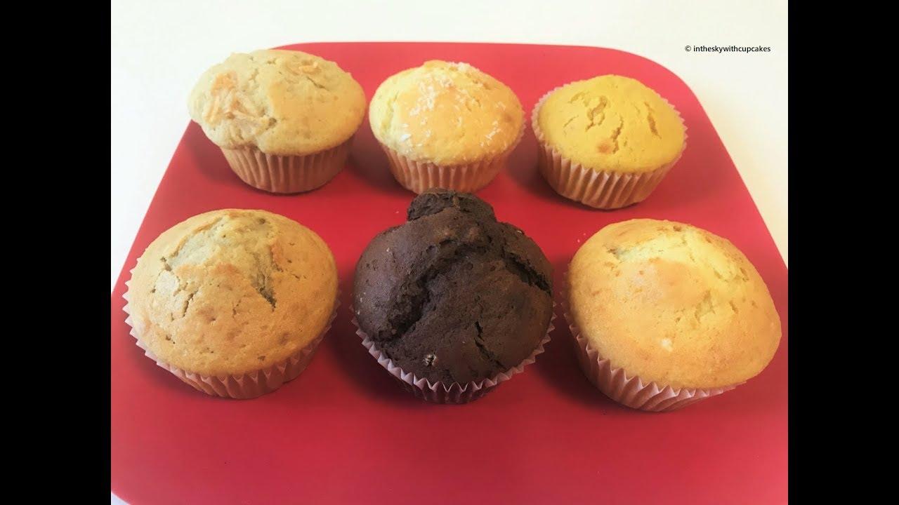 Ricetta Muffin X 6.1 Impasto 6 Muffin Ricetta Senza Lattosio Intheskywithcupcakes Youtube