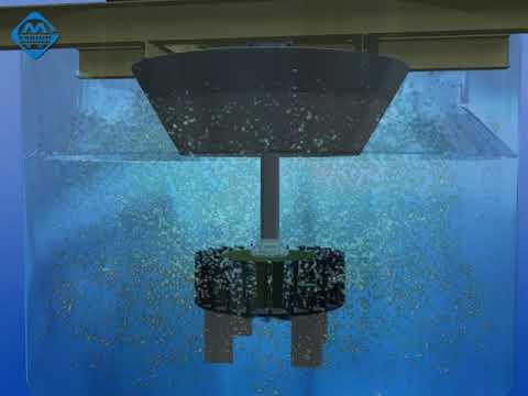 Flotation cell work principle