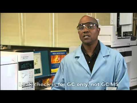 Agilent   Leak Check for GC   GC Troubleshooting Series