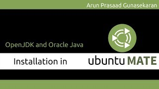 Ubuntu Installations : Install OpenJDK and Oracle Java