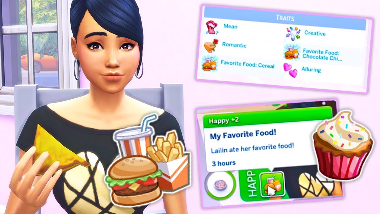 Favourite Food Mod Our Sims Can Have Fave Foods The Sims