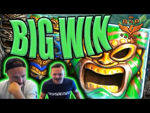 Base Game Big Win on Tahiti Gold Slot - Casino Stream Big Wins - 동영상