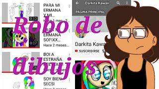 """Robo de dibujos y el caso de """"Darkita Kawaii"""""""