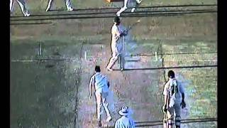 WORST CRICKET PITCH OF ALL TIME? WARNER BATS ON CRAZY PITCH, DISGRACEFUL......2010