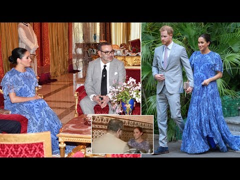 Duchess Meghan pulled off a 'perfect' curtsy for King Mohammed VI of Morocco this week