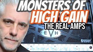 Monsters of High Gain Modeling: Hearing The REAL Amps!
