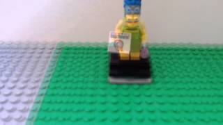 Lego Marge Simpson Build & Review