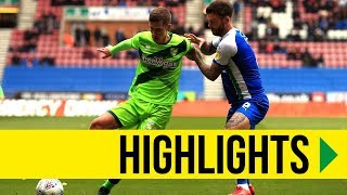 HIGHLIGHTS: Wigan Athletic 1-1 Norwich City