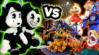 LP Movie: FNAF Animatronics VS BATIM Plushies