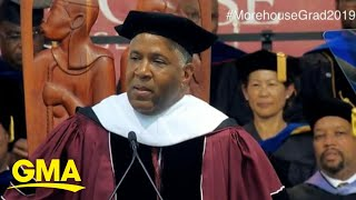 'GMA' Hot List: Billionaire tells Morehouse College grads he will pay off their debt