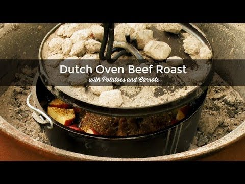 Dutch Oven Beef Roast With Potatoes And Carrots Lodge Cast Iron